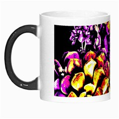 Purple Yellow Flower Plant Morph Mugs by Costasonlineshop