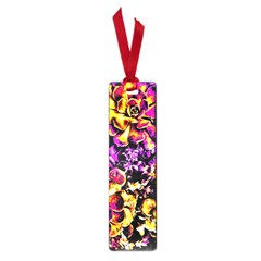 Purple Yellow Flower Plant Small Book Marks by Costasonlineshop