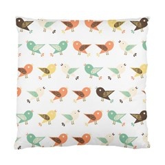 Assorted Birds Pattern Standard Cushion Case (one Side) by linceazul