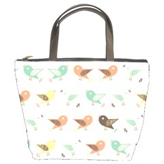 Assorted Birds Pattern Bucket Bags by linceazul