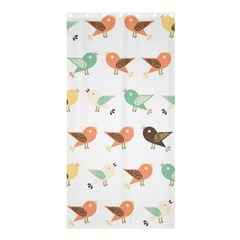 Assorted Birds Pattern Shower Curtain 36  X 72  (stall)  by linceazul