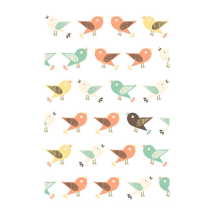 Assorted Birds Pattern Shower Curtain 48  x 72  (Small)