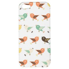Assorted Birds Pattern Apple Iphone 5 Hardshell Case by linceazul