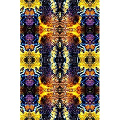 Mystic Yellow Blue Ornament Pattern 5 5  X 8 5  Notebooks by Costasonlineshop