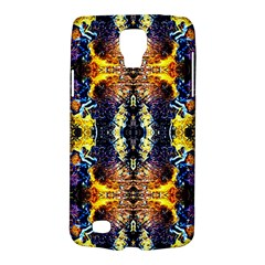 Mystic Yellow Blue Ornament Pattern Galaxy S4 Active