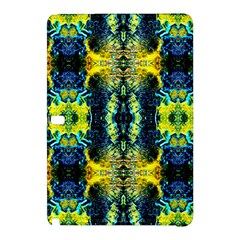Mystic Yellow Green Ornament Pattern Samsung Galaxy Tab Pro 10 1 Hardshell Case by Costasonlineshop