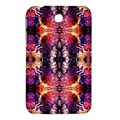 Mystic Red Blue Ornament Pattern Samsung Galaxy Tab 3 (7 ) P3200 Hardshell Case  by Costasonlineshop