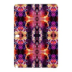Mystic Red Blue Ornament Pattern Samsung Galaxy Tab Pro 12 2 Hardshell Case by Costasonlineshop
