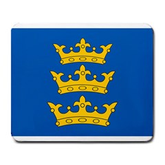Banner Of Lordship Of Ireland (1177 1542) Large Mousepads by abbeyz71