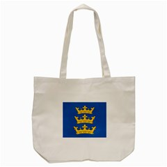 Banner Of Lordship Of Ireland (1177 1542) Tote Bag (cream) by abbeyz71