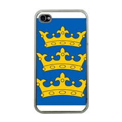 Banner Of Lordship Of Ireland (1177 1542) Apple Iphone 4 Case (clear)