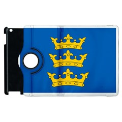 Banner Of Lordship Of Ireland (1177 1542) Apple Ipad 2 Flip 360 Case by abbeyz71