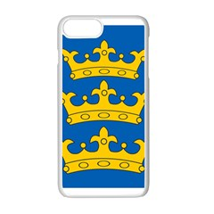 Banner Of Lordship Of Ireland (1177 1542) Apple Iphone 7 Plus White Seamless Case