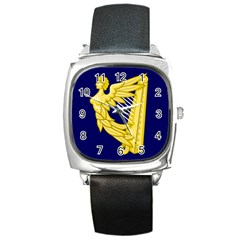 Royal Standard Of Ireland (1542 1801) Square Metal Watch by abbeyz71
