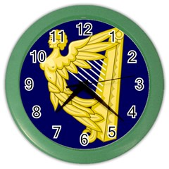 Royal Standard Of Ireland (1542 1801) Color Wall Clocks by abbeyz71