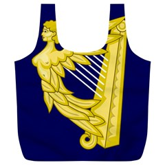 Royal Standard Of Ireland (1542-1801) Full Print Recycle Bags (l)  by abbeyz71