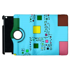 Squares On A Blue Background      Samsung Galaxy S Iii Classic Hardshell Case (pc+silicone) by LalyLauraFLM