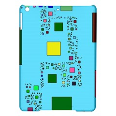 Squares On A Blue Background      Samsung Galaxy Note 3 N9005 Case (black) by LalyLauraFLM