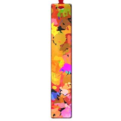 Colorful Shapes             Large Book Mark by LalyLauraFLM