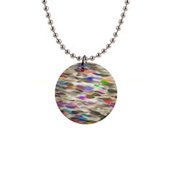 Colorful Watercolors           1  Button Necklace by LalyLauraFLM