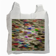 Colorful Watercolors           Recycle Bag (one Side)
