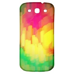 Pastel Shapes Painting      Samsung Galaxy S Iii Flip 360 Case by LalyLauraFLM
