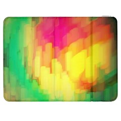 Pastel Shapes Painting      Htc One M7 Hardshell Case by LalyLauraFLM