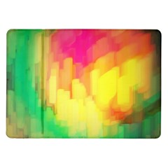 Pastel Shapes Painting      Samsung Galaxy Tab 7  P1000 Flip Case by LalyLauraFLM