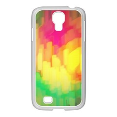 Pastel Shapes Painting      Samsung Galaxy Note 2 Case (white) by LalyLauraFLM
