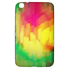 Pastel Shapes Painting      Samsung Galaxy Tab 3 (7 ) P3200 Hardshell Case by LalyLauraFLM