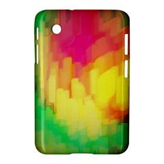 Pastel Shapes Painting      Apple Iphone 5c Hardshell Case by LalyLauraFLM