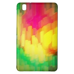 Pastel Shapes Painting      Samsung Galaxy Tab Pro 10 1 Hardshell Case by LalyLauraFLM