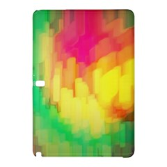 Pastel Shapes Painting      Samsung Galaxy Tab Pro 8 4 Hardshell Case by LalyLauraFLM