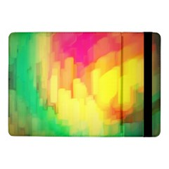 Pastel Shapes Painting      Samsung Galaxy Tab Pro 8 4  Flip Case by LalyLauraFLM