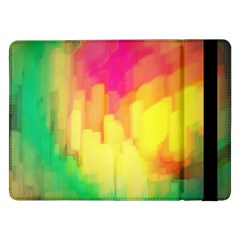Pastel Shapes Painting      Samsung Galaxy Tab Pro 10 1  Flip Case by LalyLauraFLM