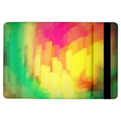 Pastel Shapes Painting      Apple Ipad Mini 2 Flip Case by LalyLauraFLM