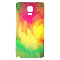 Pastel Shapes Painting      Samsung Galaxy Note Edge Hardshell Case by LalyLauraFLM