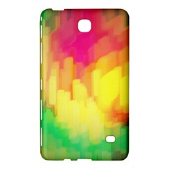 Pastel Shapes Painting      Samsung Galaxy Tab 4 (7 ) Hardshell Case by LalyLauraFLM