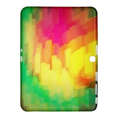 Pastel Shapes Painting      Samsung Galaxy Tab 4 (8 ) Hardshell Case by LalyLauraFLM