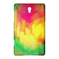 Pastel Shapes Painting      Samsung Galaxy Tab 4 (10 1 ) Hardshell Case by LalyLauraFLM