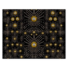 Lace Of Pearls In The Earth Galaxy Pop Art Rectangular Jigsaw Puzzl by pepitasart