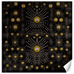 Lace Of Pearls In The Earth Galaxy Pop Art Canvas 20  X 20   by pepitasart