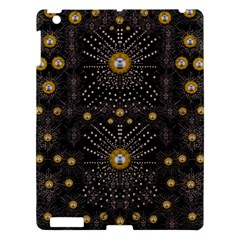 Lace Of Pearls In The Earth Galaxy Pop Art Apple Ipad 3/4 Hardshell Case by pepitasart