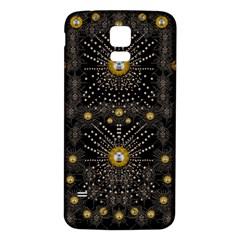 Lace Of Pearls In The Earth Galaxy Pop Art Samsung Galaxy S5 Back Case (white) by pepitasart