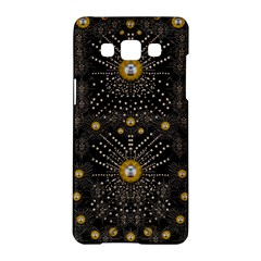 Lace Of Pearls In The Earth Galaxy Pop Art Samsung Galaxy A5 Hardshell Case  by pepitasart