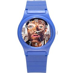 Shitfaced Round Plastic Sport Watch (s) by RakeClag