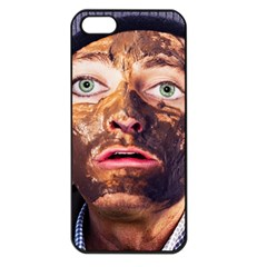 Shitfaced Apple Iphone 5 Seamless Case (black) by RakeClag