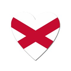 St  Patrick s Saltire Of Ireland Heart Magnet by abbeyz71