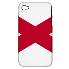 St  Patrick s Saltire Of Ireland Apple Iphone 4/4s Hardshell Case (pc+silicone) by abbeyz71