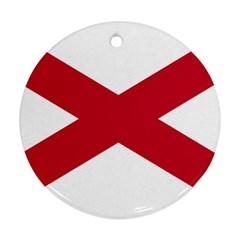 St  Patrick s Saltire Of Ireland Ornament (round)